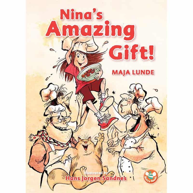 Nina's Amazing Gift Cover