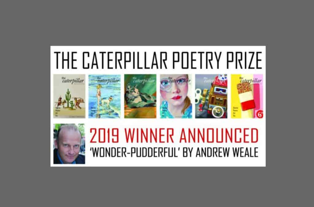 Wacky Bee Author Wins Caterpillar Poetry Prize